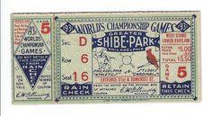 Net 54 Vintage Baseball Memorabilia Forum: vintage World Series ticket stub question Baseball Posters, Baseball Art, Baseball Tickets, Baseball Odds, Baseball Scrapbook, Philadelphia Athletics, Oakland Athletics, World Series Tickets, Cardinals Game