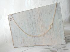 *mini raute* vergoldete Halskette von Mint Design auf DaWanda.com