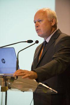 Raymond Vincent (INRS), chef du projet Seirich, lors de la Journée d'information Seirich du 15/09/2015 à Paris © INRS