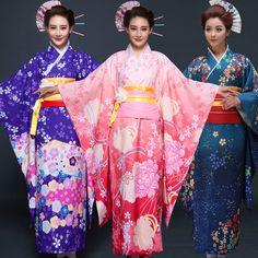 Pas cher Japon femmes qualité Kimono Lovelive Sonoda Umi Cosplsy robe Anime Costume Studio vêtements traditionnels japonais Yukata Sakura, Acheter  Vêtements asiatiques et des Îles du pacifique de qualité directement des fournisseurs de Chine:           Voir la fiche produit                            Taille: longueur 120 cm, buste 120 cm, douille 40 cm, manche