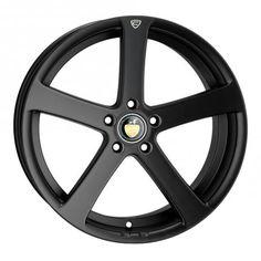 19 CADES APOLLO MATT BLACK alloy wheels for 5 studs wheel fitment in 9.5x19 rim size