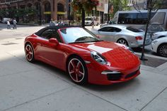Porsche 911 Carrera S Cabriolet....how can this fail to make you smile?! ☺️☺️