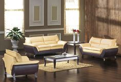 Stylish Design Furniture - Divani Casa 2819 - Modern Bonded Leather Sofa Set, $1,492.50 (http://www.stylishdesignfurniture.com/products/divani-casa-2819-modern-bonded-leather-sofa-set.html)