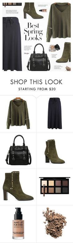 """Rosegal"" by novalikarida ❤ liked on Polyvore featuring Jimmy Choo, H&M, Down to Earth, MAKE UP FOR EVER, Dolce&Gabbana and Bobbi Brown Cosmetics"
