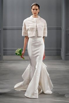 ABITI DA SPOSA 2014: COLLEZIONE MONIQUE LHUILLIER By www.SomethingTiffanyBlue.com