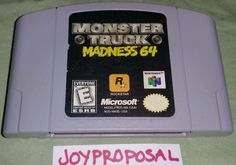 Rockstar Monster Truck Madness 64 N64 Race Racing Track Variable Weather Custom