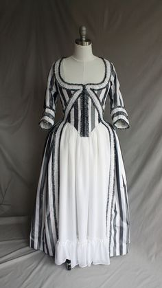 SALE Sleepy Hollow 18th Century Rococo Gown (Ready To Wear) 50% Off