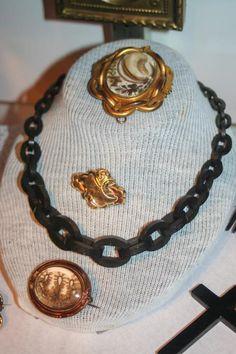 Antioch Historical Society display of Civil War items - 1