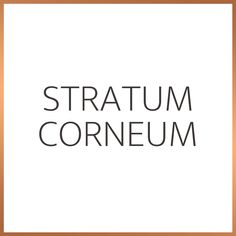 The stratum corneum is the outer most layer of the skin and our first line of defense against external environmental factors. The lipid matrix, comprised of Ceramides, Cholestrol and Fatty Acids, is intergral to this protection of the stratum corneum. Always look for skincare products high in lipids to prevent water loss and other nasties penetrating the skin. Environmental Factors, Skincare, Science, Water, Products, Gripe Water, Skin Care, Flag, Skin Treatments