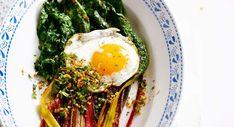 Blettes aux œufs sur le platDécouvrir la recette des blettes aux œufs sur le plat