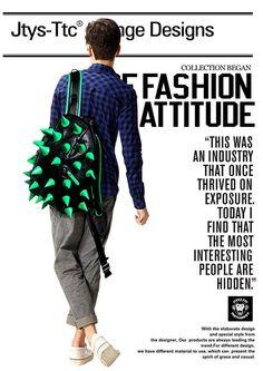 Hedgehog shaped backpack shoulder bag PU leather big size Japanese JTYS brand