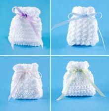 Crochet sachet bags..what a precious gift to make