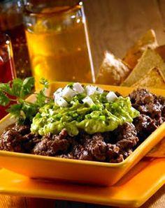 Como Hacer Dip de Frijoles con Guacamole, Cocina de CostaRica