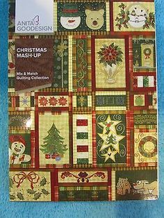 Anita-Goodesign-Christmas-Mash-up-Mix-n-Match-Quilting-October-2015-SEALED