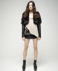 Fur + Sequins