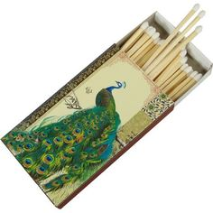 Shop Astara Peacock Beautiful Box of Matches at the Amazon Home Décor Store