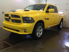 2016 RAM 1500 Stinger Yellow Sport Limited Edition unveiled this May!