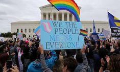 Supreme Court rules employers cannot discriminate against LGBTQ+ workers Adoption Agencies, Us Supreme Court, Lgbt Couples, Transgender People, Financial News, Civil Rights, Barack Obama, Federal, America