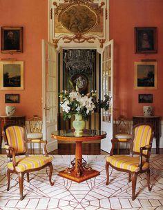 Ashley Hicks - Interiors - A Villa in Turin