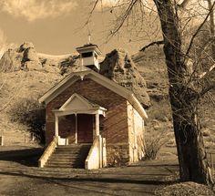 Original Schoolhouse in Southern Utah.