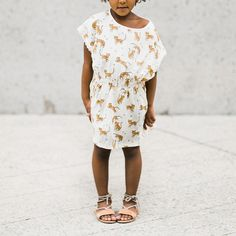 Rylee & Cru Tigers Kaftan Dress