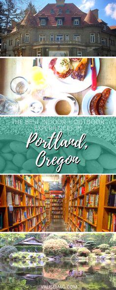 Portland is chock-full of things to do, places to see, and food to eat. Heres a brief list of my favorites since I started visiting a year ago.