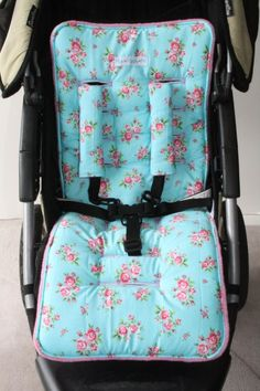 sew your own pram liner Baby Sewing Projects, Sewing For Kids, Sewing Tutorials, Sewing Ideas, Baby Dress Patterns, Kids Patterns, Baby Gifts To Make, Pram Liners, Baby Barn