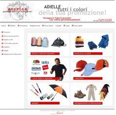Adielle pubblicità e promozione prezzi imbattibili per #borsesport #magliette #polo #tute #felpe #cappellini #gadget www.adiellepromotion.it powered by www.b4web.biz