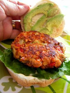 The 99 Cent Chef Salmon Burger Burgers Canned Patties Fish