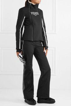 2c30ebaa65 FENDI Sleek Roma paneled ski jacket. Black Ski JacketBlack PantsSki  PantsSnow ...