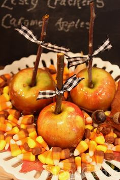 Candy Apples.
