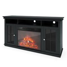 1000 Images About Fireplace On Pinterest Electric Fireplaces Thermostats And Media Consoles