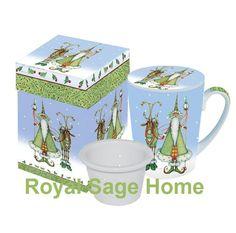 Patience Brewster Krinkles Coffee Cup Mug Lid Strainer | eBay