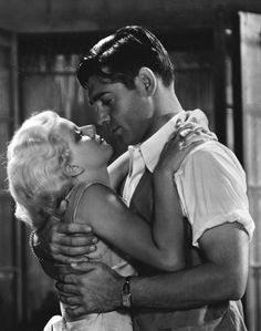 Clark Gable and Jean Harlow   [1932] Red Dust. This movie was sultry and smart. love.