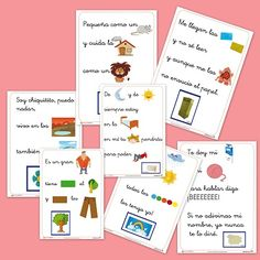 fun idea I can do with pictures for my vocabulary… students get a card and have to say the entire card in Spanish Spanish Teaching Resources, Spanish Activities, Language Activities, Teacher Resources, Idiomatic Expressions, Spanish Teacher, Spanish Class, Bilingual Education, Baby Learning