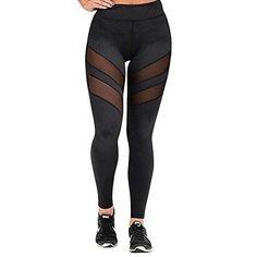 New Women Ladies Side Panel Batman Logo Print Leggings Full Length Trouser Pants