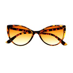 Vintage Retro Fashion Tip Pointed Large Womens Cat Eye Sunglasses C75
