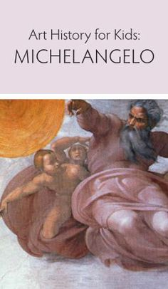 This Renaissance art history lesson includes flash cards and fun facts. Art History Lessons, History For Kids, Art Lessons, Michelangelo, 6th Grade Art, Art Worksheets, Preschool Art, Renaissance Art, Art Studies