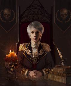 Warhammer Fantasy, Warhammer 40k Art, Dnd Characters, Fantasy Characters, Female Characters, Character Concept, Character Art, Arte Steampunk, Character Portraits