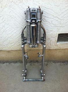 Resultado de imagen para spring front fork motorcycle