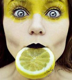 Lemon face.