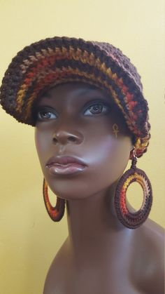 Lotus Sol Divine Being Crochet Cotton Cap and by Geminisunshine