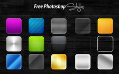 Photoshop Chrome Styles | ... photoshop styles photoshop styles gold emboss satin photoshop styles