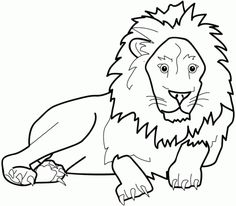 Free Printable Lion Coloring Pages For Kids - ClipArt Best ...
