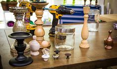 Home  Family - Tips  Products - DIY Candlestick Apothecary Jars | Hallmark Channel