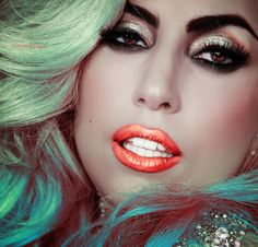 I would never try this but i must admit i am GAGA over this ! colors are perfect and flawlesss