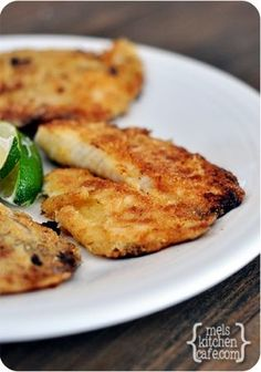 Yield: 4 Servings Ingredients: Fish and Marinade: 4 tilapia fillets (about 4-5 ounces each) 2 tablespoons lime juice (from 1 large lime) Zest of 1 lime 1 tablespoon olive oil 1 1/2 tablespoons honey 1/2 teaspoon salt 1/2 teaspoon black pepper 1 clove.