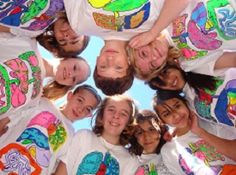 """Human Anatomy shirts students paint and label! This site gives ordering information, organizational strategies, supplemental activities, and even directions for hosting a """"Human Body Olympics""""!"""