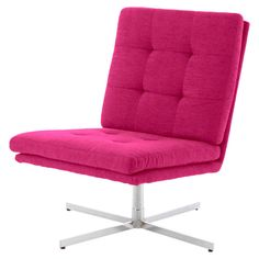 Maximilian Accent Chair in Berry