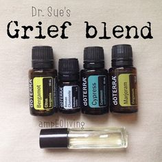 """If you or anyone you know is suffering with grief, sorrow or pain...this powerful combination can offer so much help in the release stage of the healing…"" http://mydoterra.com/michellhatch"